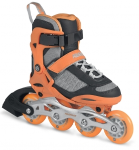 Rolki Powerslide Kids PHU Galaxy neon/orange