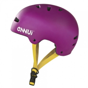 Kask Enniu Basic  Purpurowy